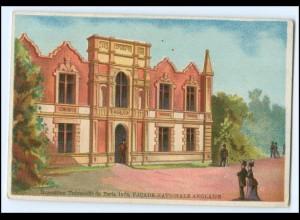 N7865/ Paris Exposition Universelle 1878 Weltausstellung Kaufmannsbild Litho
