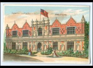 N7866/ Paris Exposition Universelle 1878 Weltausstellung Kaufmannsbild Litho