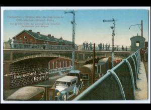 Y2675/ Herbesthal Grenze Deutschland - Belgien Eisenbahn 1916