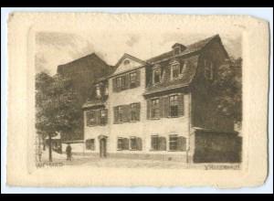 N8653-994./ Weimar Schillerhaus Kupferdruck AK ca.1920