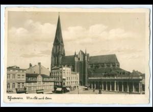 M9416/ Schwerin Markt Foto AK 1937