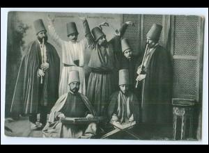 N7703/ Constantinople Derviches Tourneurs Türkei AK ca.1910