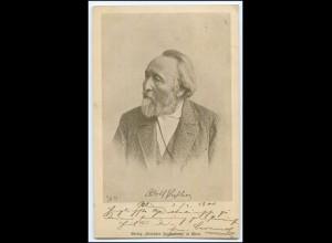 Y3996/ Adolf Pichler österr. Schriftsteller Verlag: Deutscher Jugendbund AK 1900