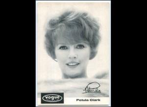 DP311/ Petula Clark Vogue Karte ca.1970