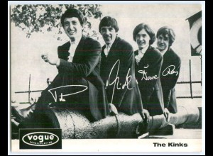 DP312/ The Kinks Vogue Karte ca.1965