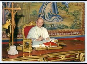 Y2399/ Papst Paul VI AK 1970