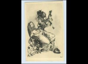 Y2467/ Hanna Nagel - Unterhaltung AK ca.1920