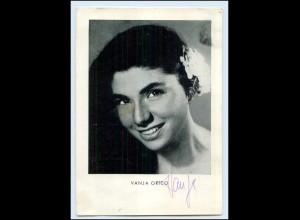 """N7827/ Vanja Orico Autogramm in """"Conchita der der Ingeniur"""" AK ca.1955"""