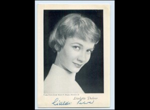 N7828/ Liselotte Pulver Autogramm ca.1955-60