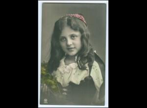 Y2488/ Hübsches Mädchen Foto AK Rotophot 1908