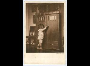 """Y2502/ Lotte Herrlich Kinder AK """"An der Tür"""" 1929"""