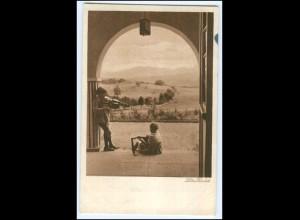 """Y2503/ Lotte Herrlich Kind speilt Geige AK """"Licht und Sonne"""" 1929"""