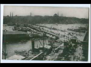 N8116/ Constantinople Türkei Foto AK ca.1920