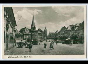 N8218-3559/ Lichtenfels Marktplatz Foto AK ca.1940