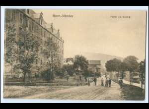 N8543-3510/ Hann Münden Partie am Schloß AK 1916