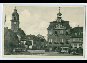 N8229-364./ Bad Salzungen Marktplatz AK ca.1935