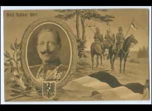 N8393/ Kaiser Wilhelm 1. Weltkrieg AK 1915