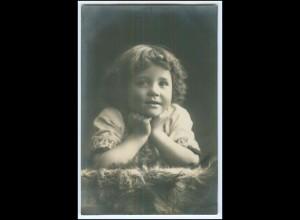 Y2563/ Kleines Mädchen schöne Foto AK 1911