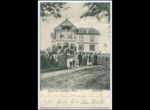 N8453-2061/ Lasbeker Mühle Pensionshaus Lasbek AK 1904