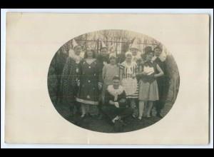 Y2652/ Fasching Karneval schöne Privat Foto AK ca.1925