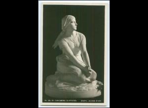 Y3995/ Skulptur Chapu: Jeanne d`Arc NY Carlsberg Glyptotek Foto AK ca.1920