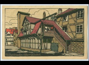 N8800-3430/ Witzenhausen Steinzeichnung Litho AK ca.1912