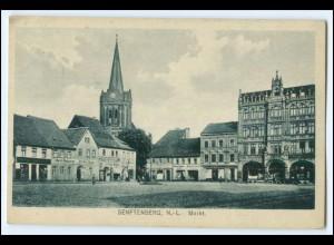 N8807-019./ Senftenberg N.-L. Markt AK 1919