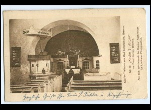 N8885/ Bremen Kirche zu St. Jürgens AK Bremer Nachrichen 1916