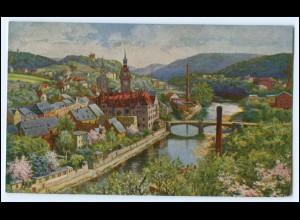 N8903-047./ Waldheim Sa. AK 1924