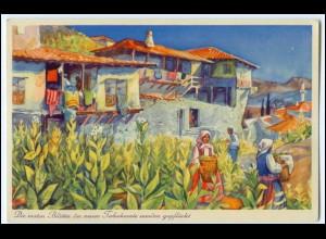N9260/ Tabakdorf Melnik Bulgarien AK Bulgaria-Zigaretten 1937