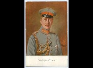 Y2772/ Kronprinz Friedrich Wilhelm in Uniform AK ca.1914