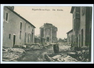 Y2861/ Regneville-en-Haye Meurthe-et-Moselle 1. Weltkrieg AK Frankreich France