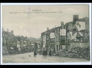 Y2860/ Longuyon Meurthe-et-Moselle 1. Weltkrieg AK Frankreich France Feldpost
