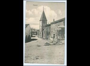 Y2859/ Chauny 1. Weltkrieg AK Frankreich France 1917