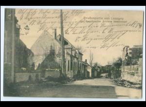 Y2867/ Lassigny 1. Weltkrieg AK Frankreich France Feldpost 1915