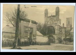 Y2868/ Laon Hotel-Dieu 1. Weltkrieg AK Frankreich France Feldpost 1916