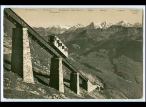 T135/ Niesenbahn Mülenen -Niesenkulm Bergbahn AK ca.1935 Kt. Bern