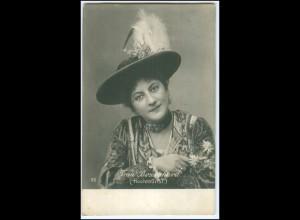 Y2952/ Schauspielerin Frau Bozenhard (Hichtourist) Foto AK ca.1900 Hamburg