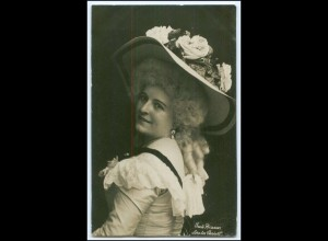 Y2951/ Schauspielerin Grete Braun Theater Hamburg Foto Mocsigay ca.1905 AK