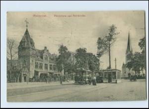 N9548/ Hannover Pferdetrum Straßenbahn AK 1909