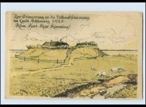 Y3062/ Schleswig-Holstein Volksabstimmung 1920 Nordschleswig AK