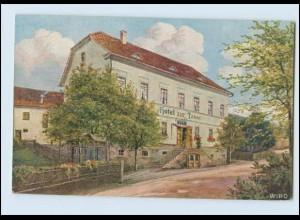 N9632-998./ Finsterbergen Hotel zur Tanne, Wiedemann Wiro AK 1926