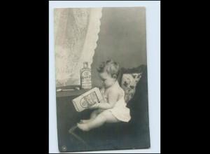 T737/ Sirolin Reklame Werbung Foto AK junge Frau 1912