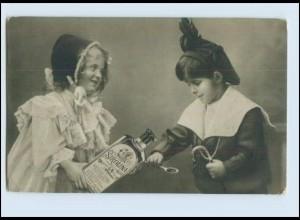 T736/ Sirolina Medizin Reklame Werbung Foto AK Kinder 1915