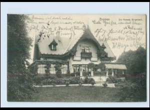 Y3469/ Bremen Die Meierei Bürgerpark 1912 AK