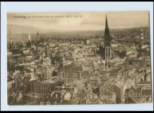 Y3422/ Hamburg vom Michaelisturm gesehen AK