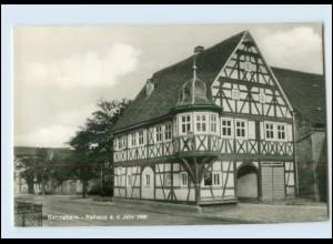 Y3373/ Gelchsheim Rathaus 1971 AK
