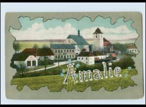 T744/ Namen AK Amalie ca.1905