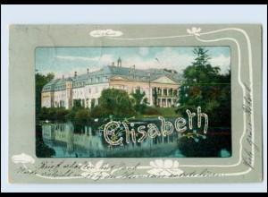 """N9683/ Namen AK """"Elisabeth"""" Jugendstil 1904"""