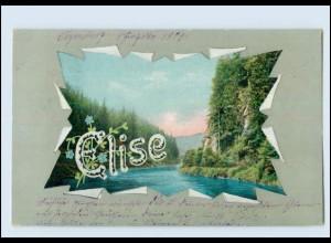 """N9677/ Namen AK """"Elise"""" 1904"""